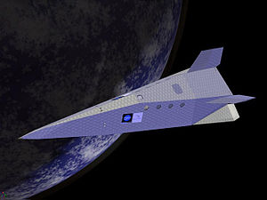 PlanetSpace - The proposed Silver Dart spacecraft.