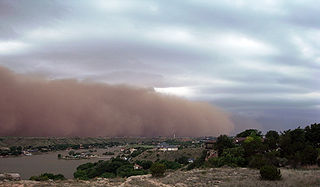 Haboob Type of intense dust storm