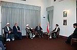 Hafez al-Assad visit to Iran, 1 August 1997 (16).jpg