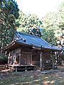 Haiden of Takakura-jinja shrine in Haramachi ward.JPG