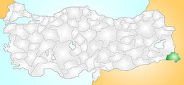 Hakkari Turkey Provinces locator.jpg