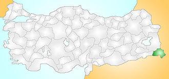 Jilu - Jīlū is located in the Hakkari Province, southeastern part of Turkey.
