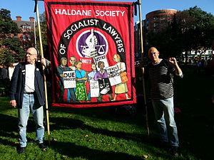 Haldane Society of Socialist Lawyers - Haldane Society Banner September 2013