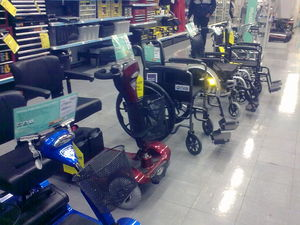 Handicapped without a domain name