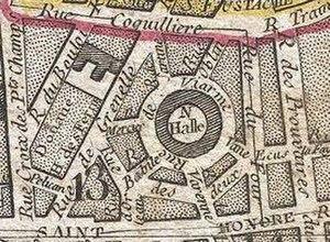 Halle aux blés (Paris) - Image: Halle aux blés 1797