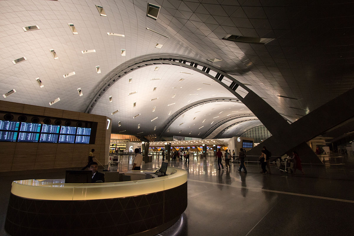Aeroporto Qatar Doha : Hamad international airport wikipedia