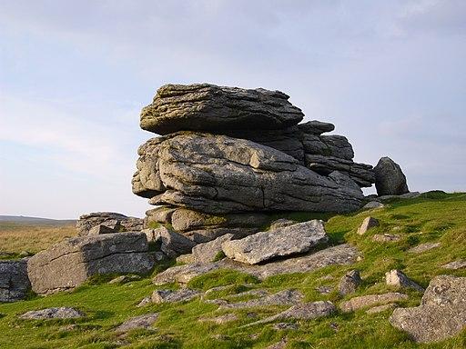 Hangershell rock