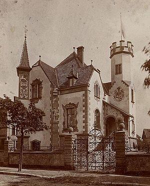 Corps Hannovera Göttingen - corps house in Göttingen (ca. 1900)