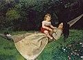 Hans Thoma - In der Hängematte (1876).jpg