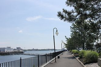 Boston Harbor - A section of the Boston Harborwalk