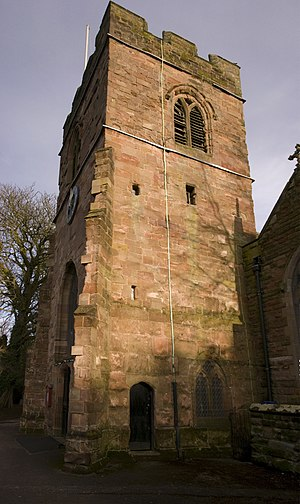 St Peter's Church, Harborne - Image: Harborne St Peter PANOR