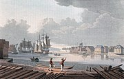 Harbour of Christiania (JW Edy plate 50)