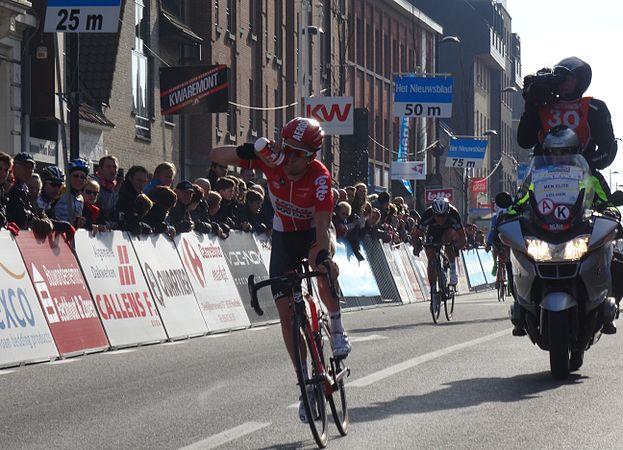 Harelbeke - Driedaagse van West-Vlaanderen, etappe 1, 7 maart 2015, aankomst (A18).JPG