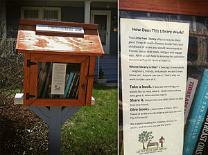 Harrisonburg, Virginia - A Little Free Library in Harrisonburg