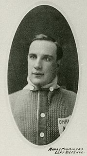 Harry Mummery American ice hockey player