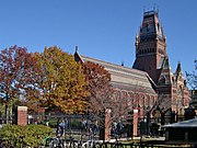Memorial Hall at Harvard College