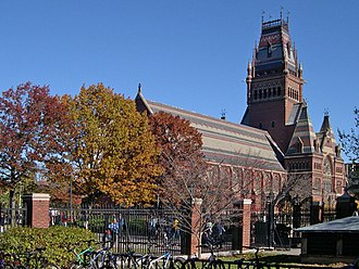 Harvard Glee Club - Sanders Theatre at Harvard University, location of many Glee Club concerts
