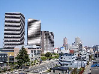 Sagamihara - A street view in Sagamihara