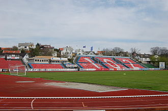 2012 Tippeligaen - Image: Haugesund stadion