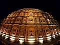 Hawa Mahal, Jaipur Night lights.jpg