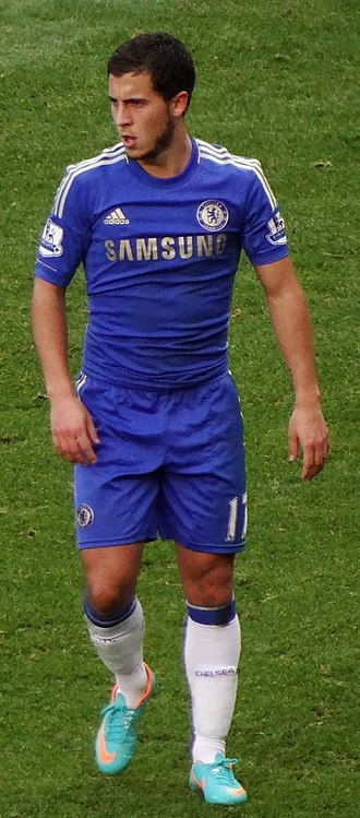 Eden Hazard - Hazard playing for Chelsea in October 2012