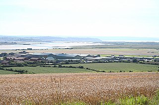RM Chivenor airport in the United Kingdom