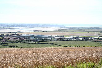 RM Chivenor - View looking south over RMB Chivenor