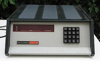 Heathkit H8 - first eight-bit Heathkit H8 computer (collection www.yesterpc.org)