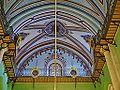 Hebron Grab der Patriarchen (Moschee) Innen Decke 1.JPG