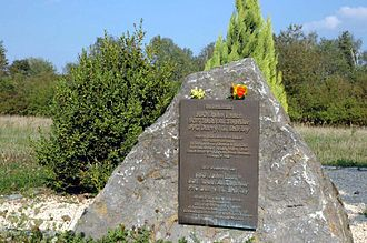 56th Field Artillery Command - Memorial stone to the victims of the missile accident on 11 January 1985