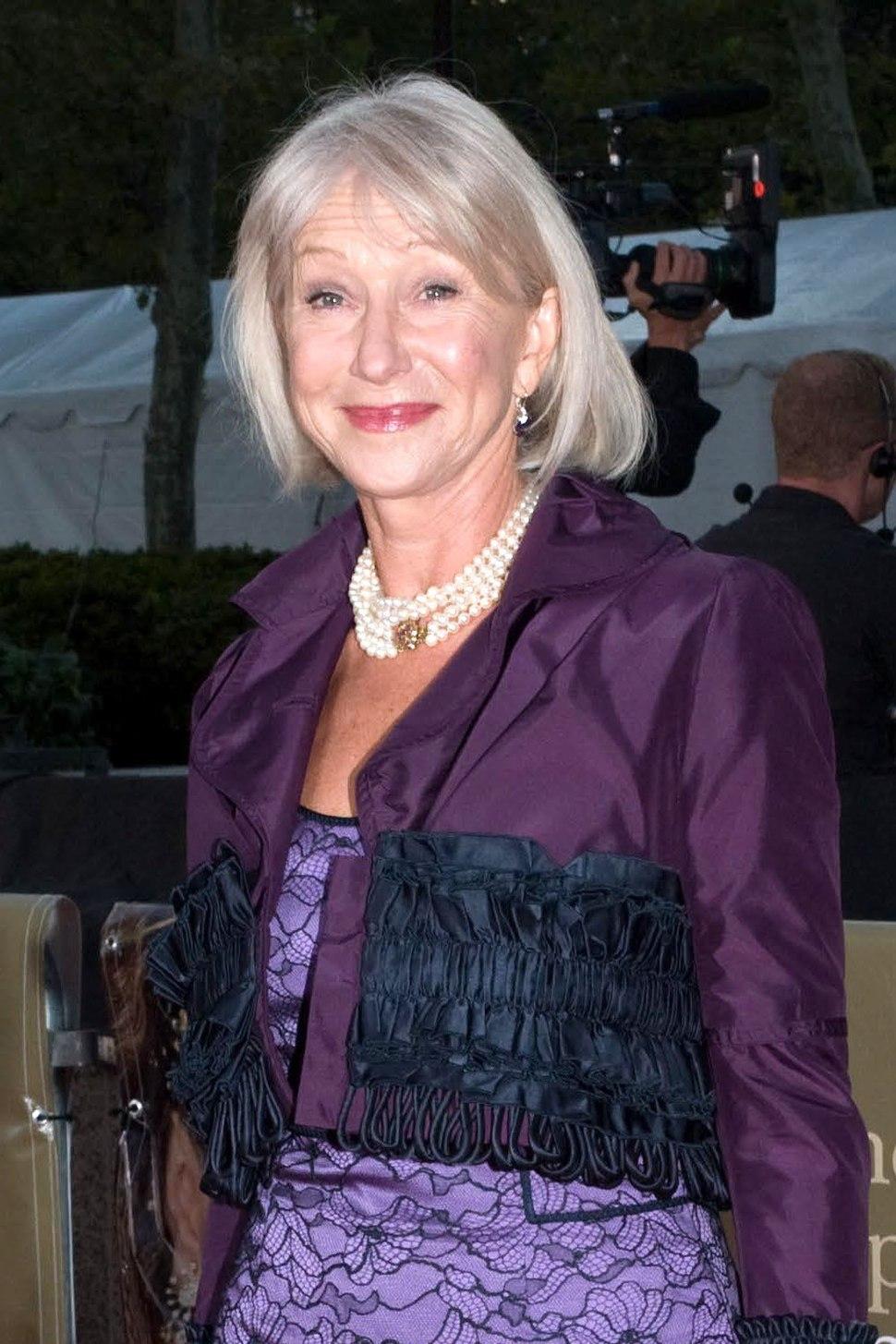 Helen Mirren at Met Opera