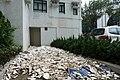 Heng Fa Chuen plastic on the floor after Typhoon Mangkhut 201809.jpg
