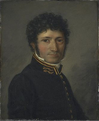 Henrik Anker Bjerregaard - Henrik Anker Bjerregaard painted by Jacob Munch.