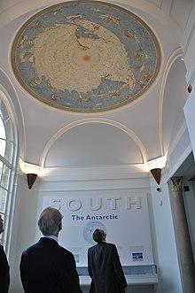 Memorial Hall in the Polar Museum, Scott Polar Research Institute
