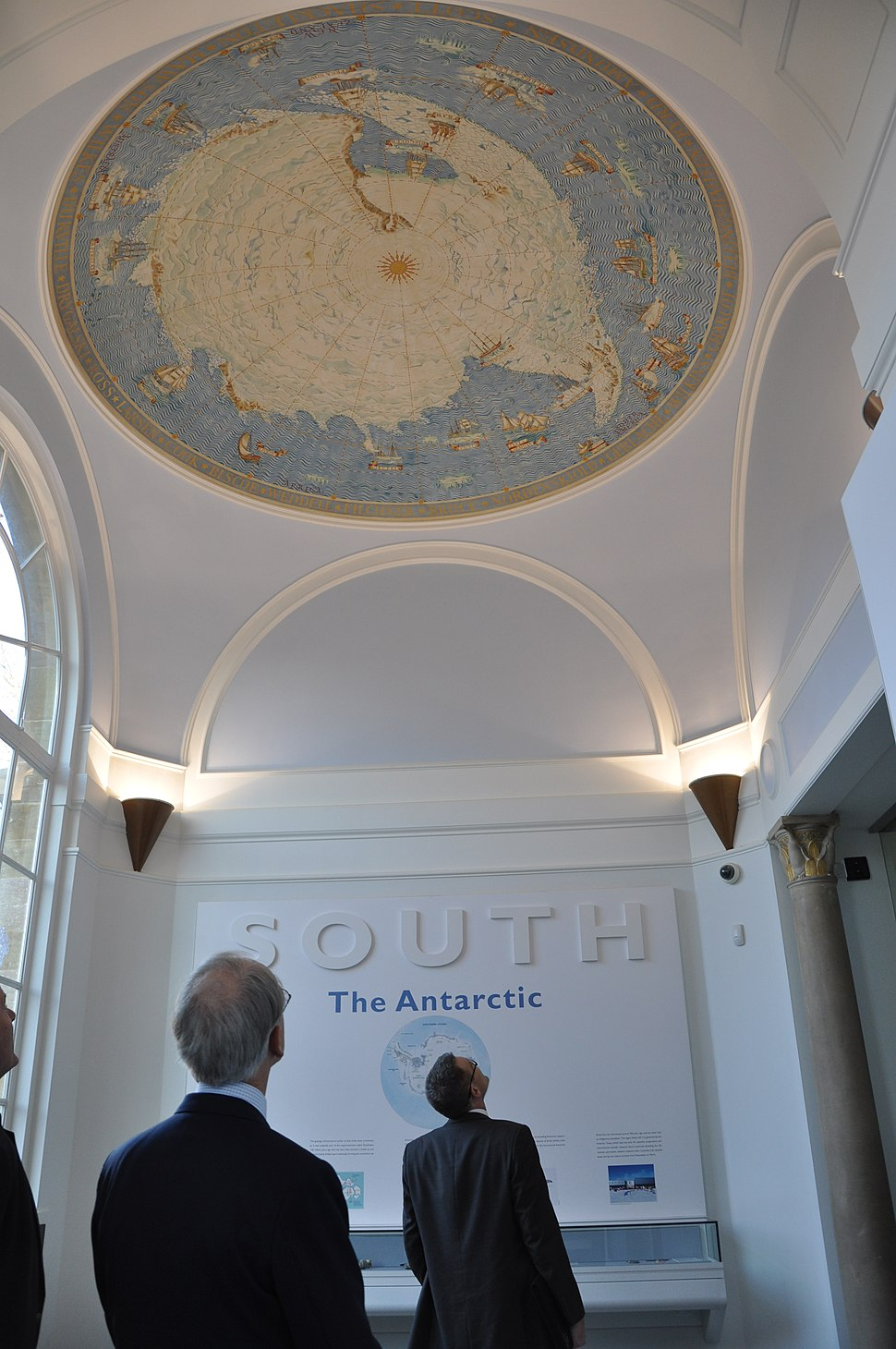 Memorial Hall in the Polar Museum, Scott Polar Research Institute