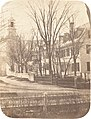 Henry F. Herbert, Dartmouth College Church, Professor Clement Long's House, President Nathan Lord's House, Sherman Nunnery, c. 1858, NGA 205160.jpg