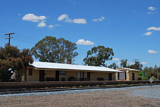 Henty, New South Wales - Henty railway station