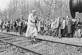 Herdenking bevrijding voormalig kamp Westerbork 40 jaar geleden Prinses Juliana, Bestanddeelnr 933-2999.jpg