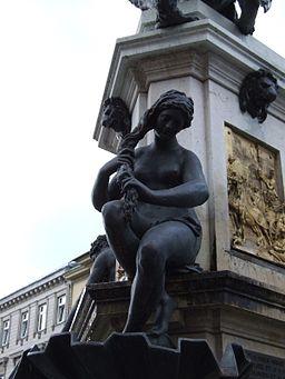 Herkulesbrunnen Augsburg Najade 2
