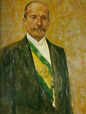 Hermes da Fonseca - Painting of President Hermes da Fonseca by Henrique Bernadelli