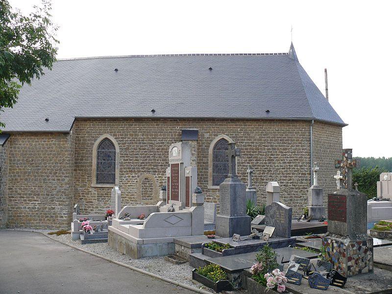 Saint-Léger's church of Hesdin-l'Abbé (Pas-de-Calais, France).