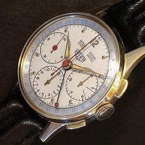 TAG Heuer - Heuer triple-date chronograph (circa 1955)