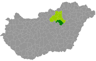 Heves District Districts of Hungary in Heves