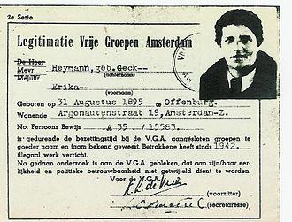 Erika Heymann - Erika Heymann's VGA Certificate