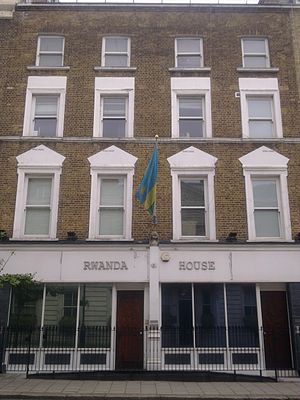 High Commission of Rwanda, London - Image: High Commission of Rwanda in London 1