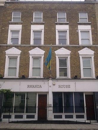 High Commission of Rwanda, London - Image: High Commission of Rwanda in London 1