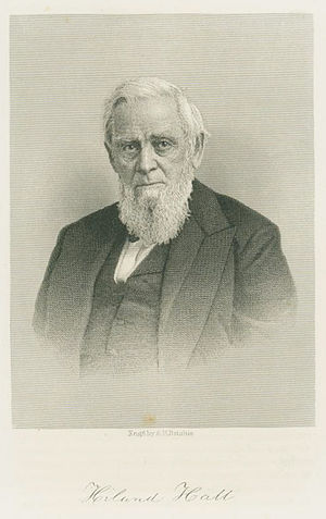 George N. Briggs - Hiland Hall of Vermont was a longtime friend and Congressional colleague.