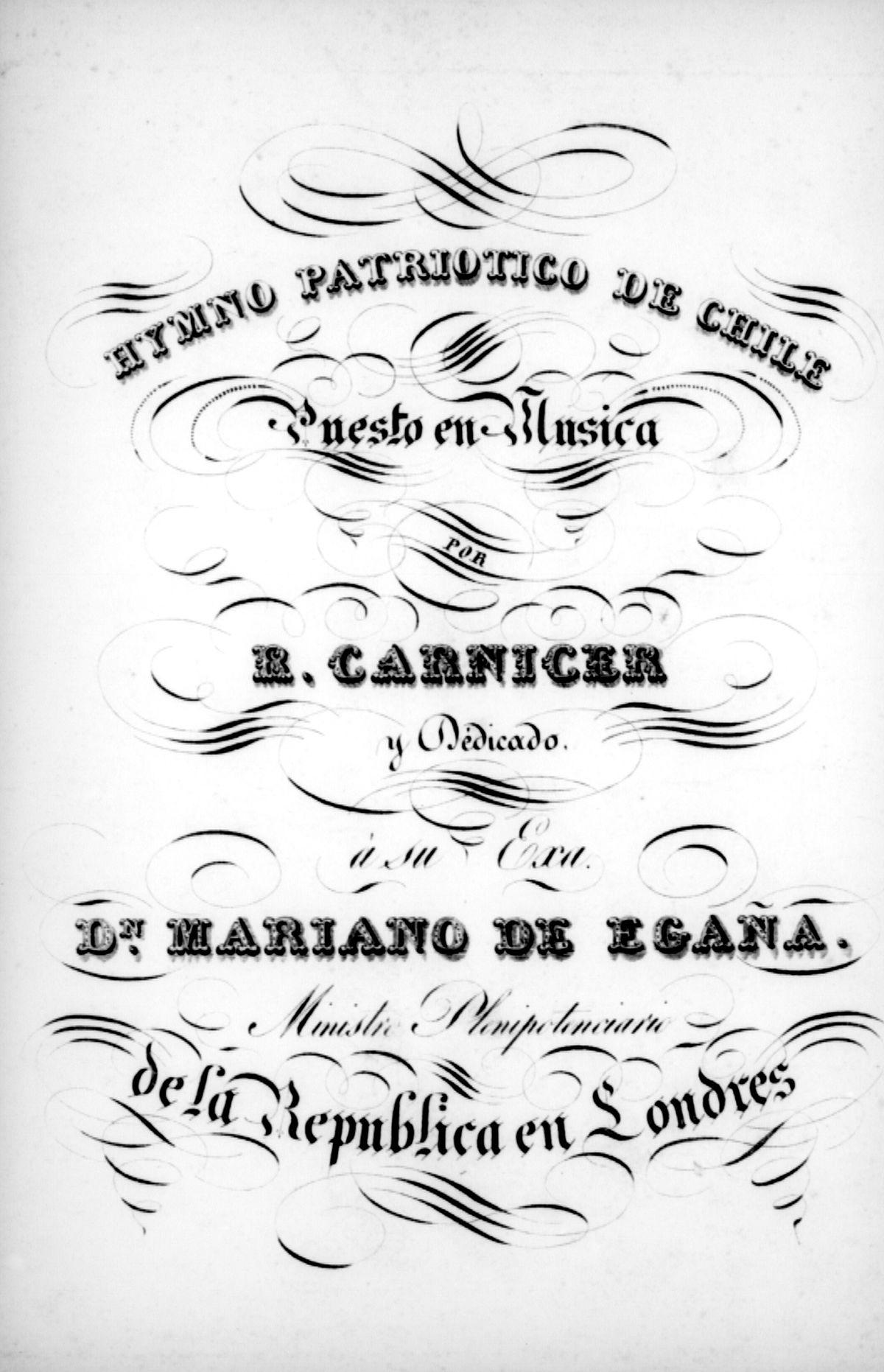 Himno nacional de Chile - Wikipedia, la enciclopedia libre