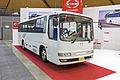 Hino Melpha (Y291 RR7JJC-4002) on display at the 2013 Australian Bus & Coach Show.jpg