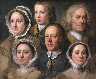 Hogarth's Servants - Image: Hogarths Servants